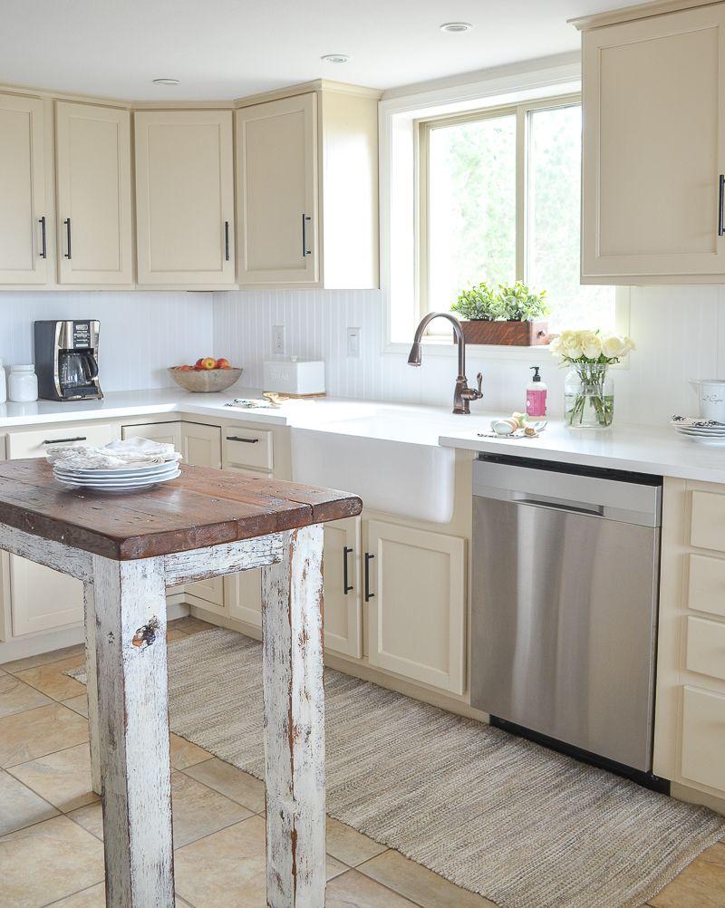 Farmhouse Style Kitchen Makeover Reveal Farmhouse style