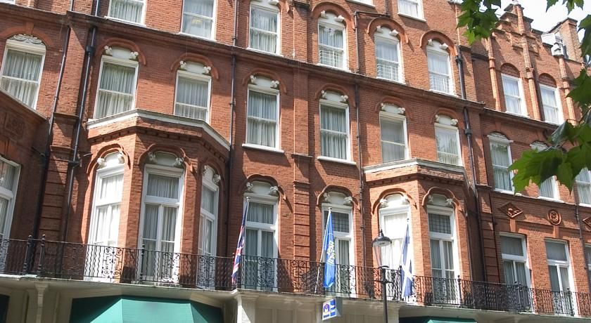 Best Western Burns Hotel Barkston Gardens Kensington London