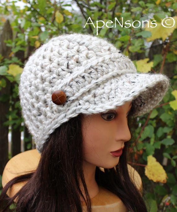 e780cf8b7a0b6 Women s Newsboy Oatmeal Cream Speckled Brim Hat