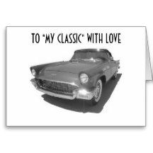 """TO """"MY CLASSIC"""" WITH LOVE CARD"""