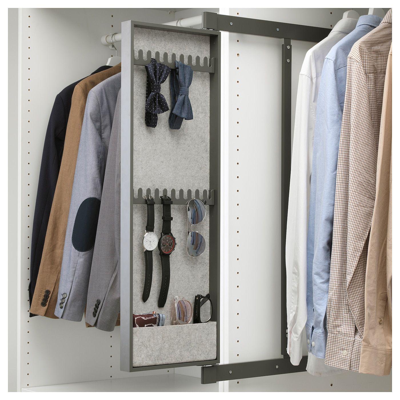 Komplement in 2020 Mirror with hooks, Ikea komplement, Ikea