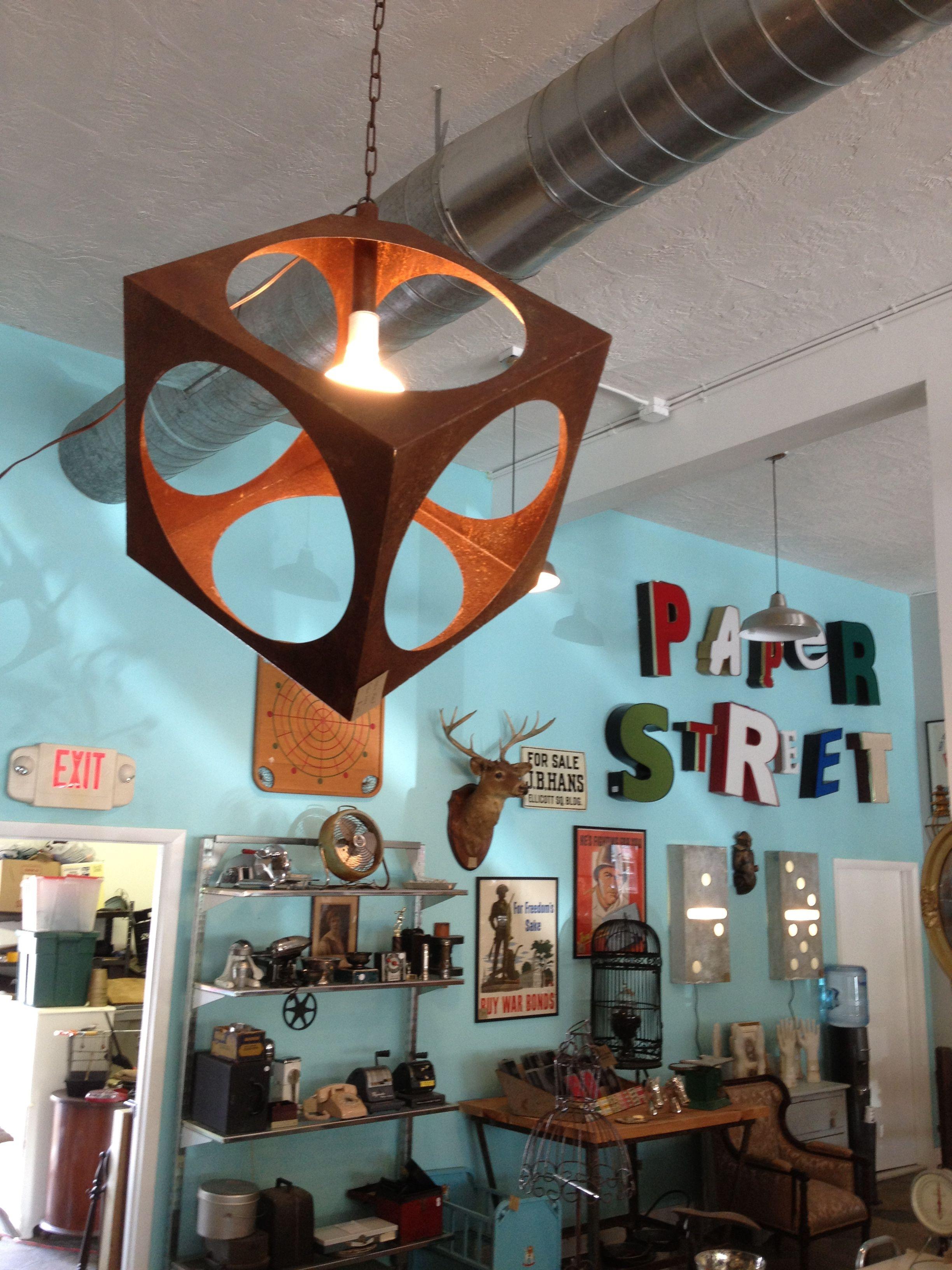 Paper Street Market, antique shop in downtown St. Pete