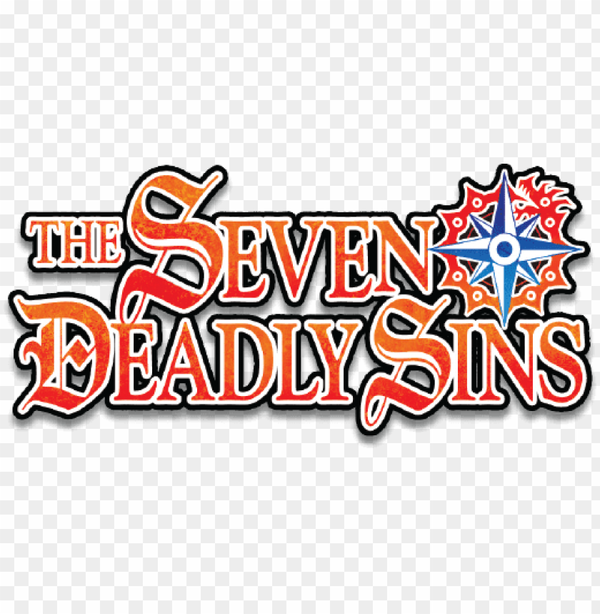 the seven deadly sins logo PNG image with transparent background png - Free PNG Images