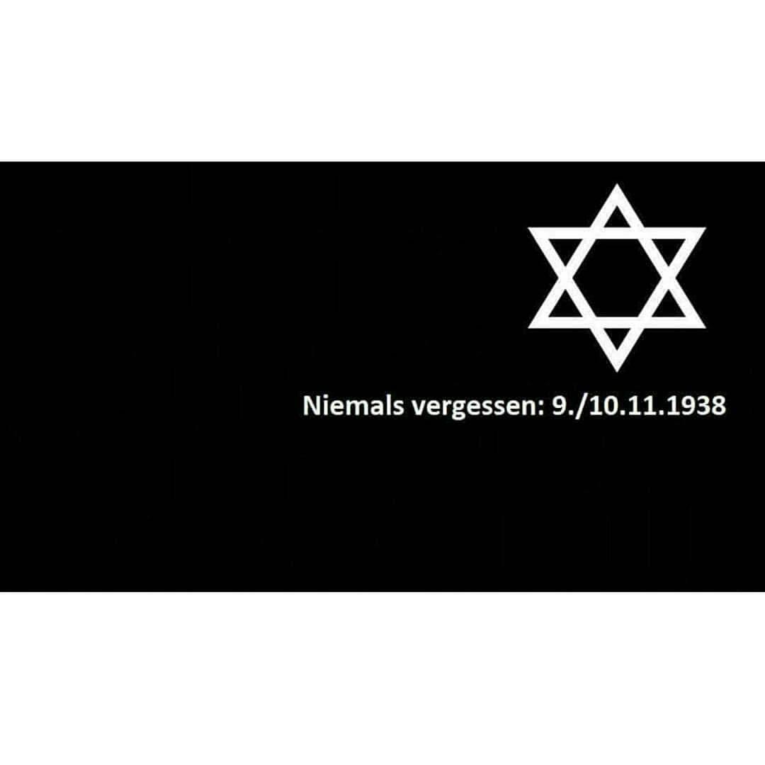 In Gedenken an die Opfer der Novemberprogrome 1938 und als Erinnerung, das Kämpfen gegen Faschismus - kleines.eulchen