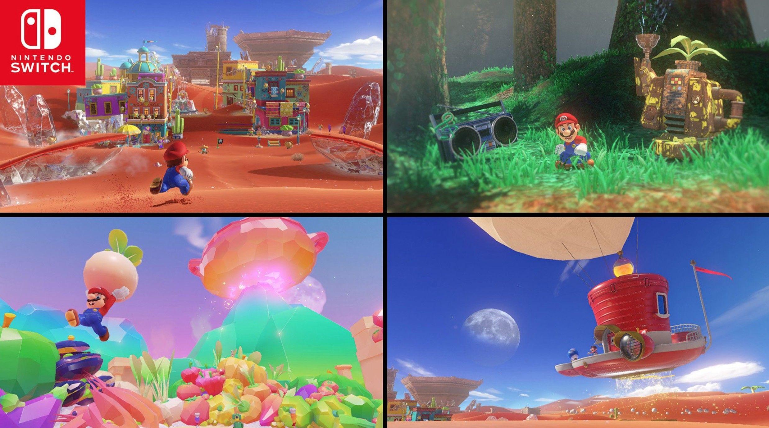 Épinglé par Liam Neate sur Super Mario Odyssey Nintendo