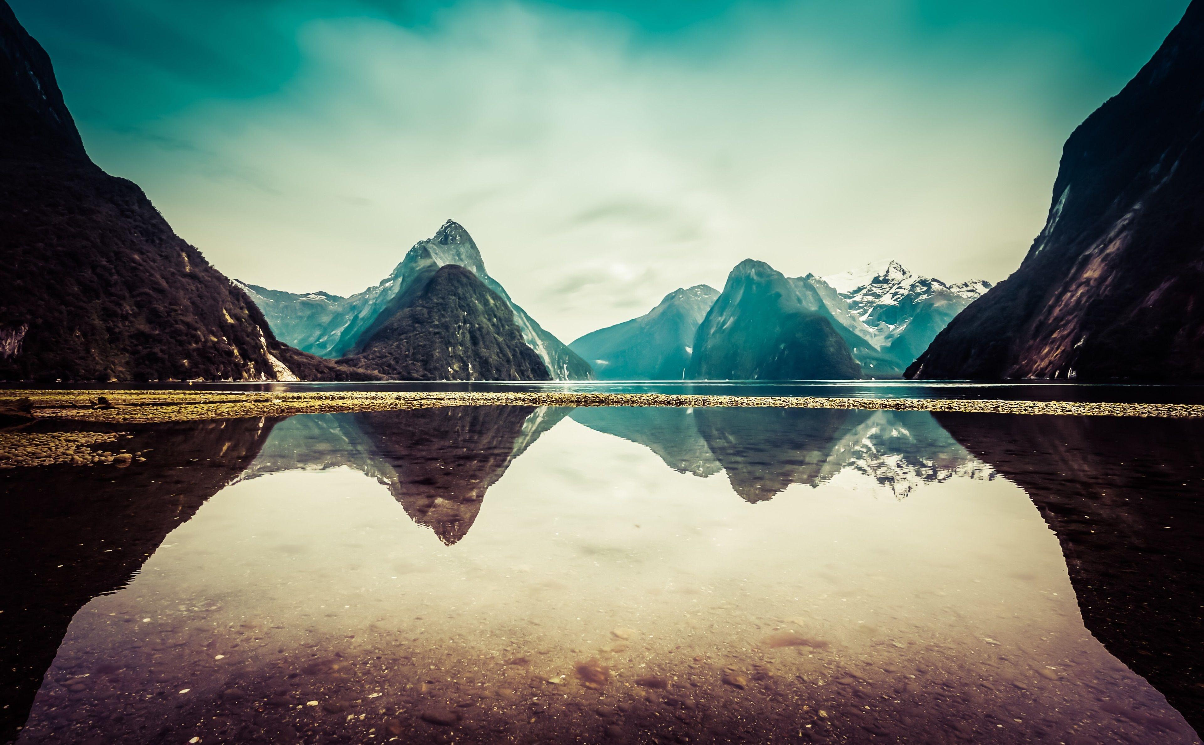 3840x2375 New Zealand 4k Free Pc Hd Wallpaper Cool Desktop Backgrounds Landscape 4k Wallpapers For Pc