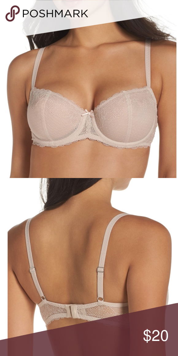 eb3410f9ba6da CHANTELLE Le Marais Underwire Demi Bra Brand new without tags! Size  36D  Color