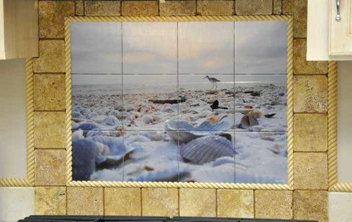 Kitchen Backsplash Tile Murals contemporary kitchen tile
