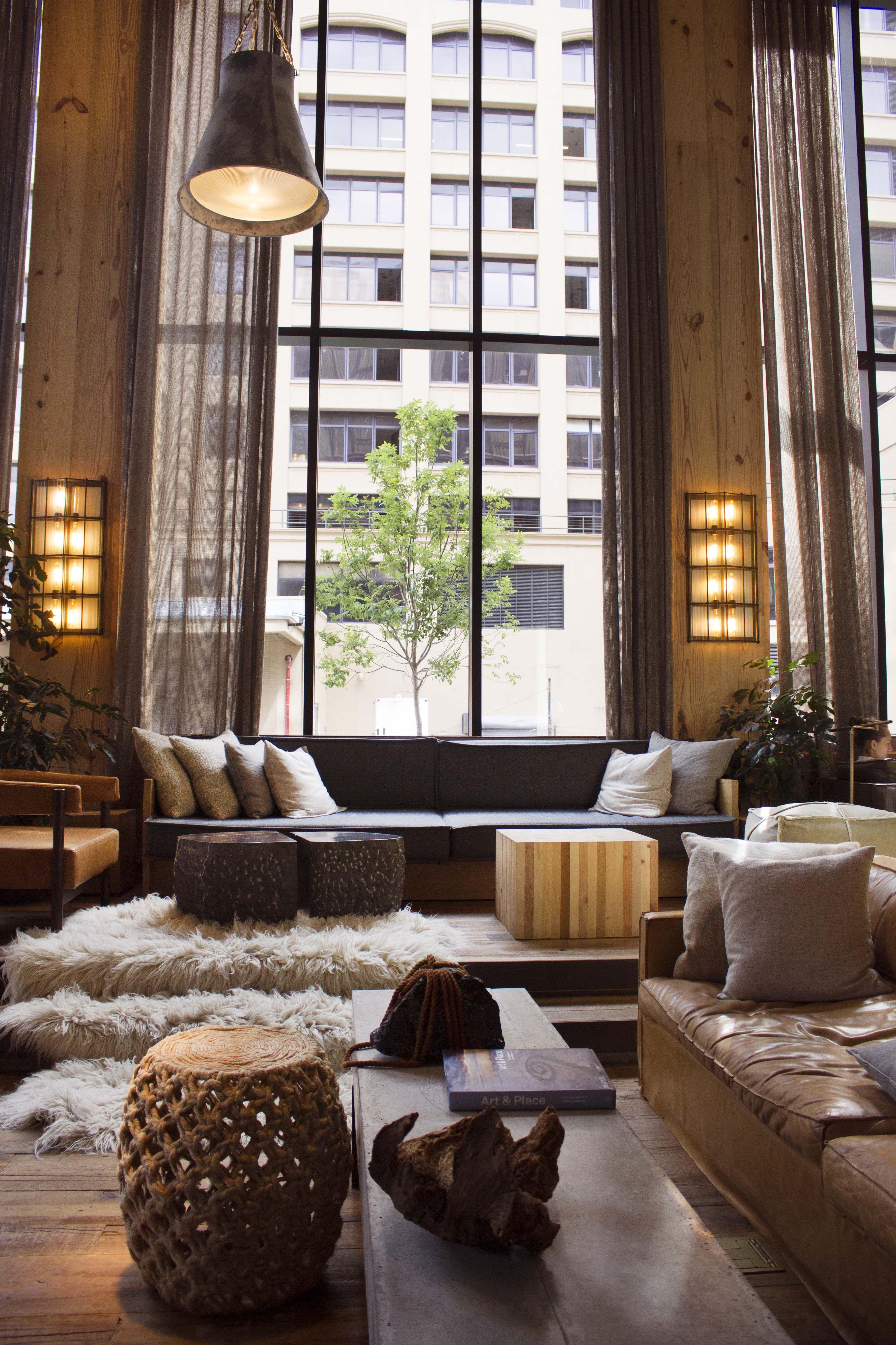 Hotel 1 Brooklyn Nyc Amazing Interiors In 2019 Room