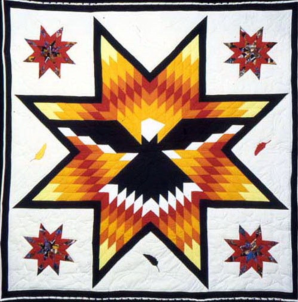 Star Quilt Native American Trade Native American