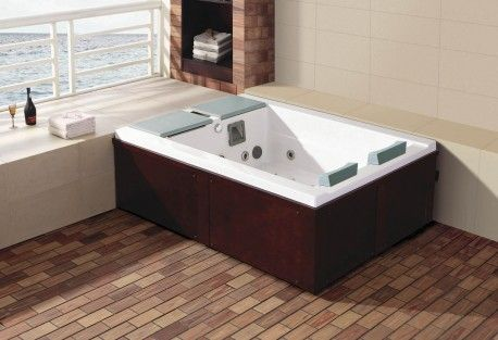 Spa-jacuzzi-exterior-AS-0031A Mini piscina Pinterest Jacuzzi