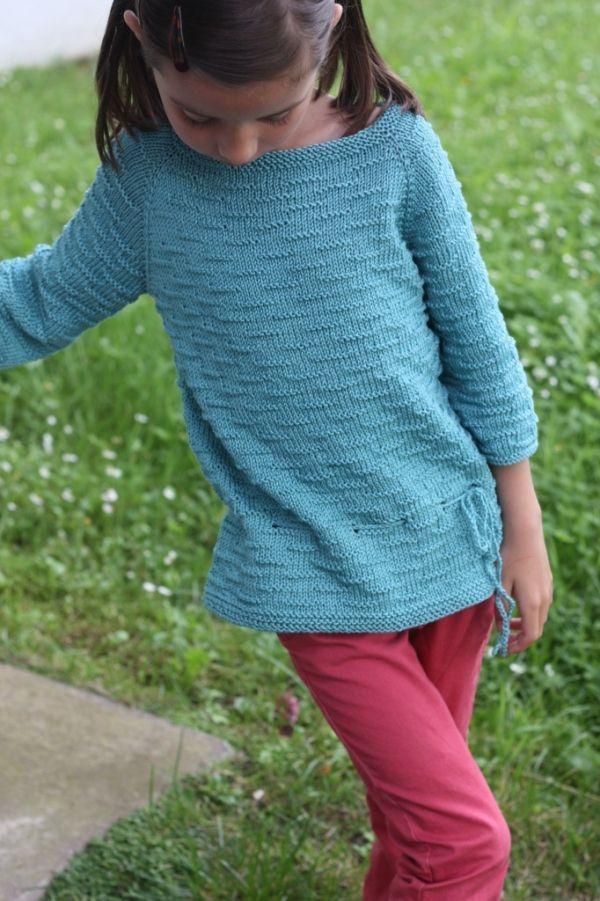 Lagon bleu de Kids Tricots