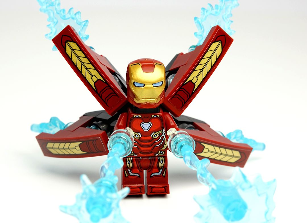 how to draw iron man lego