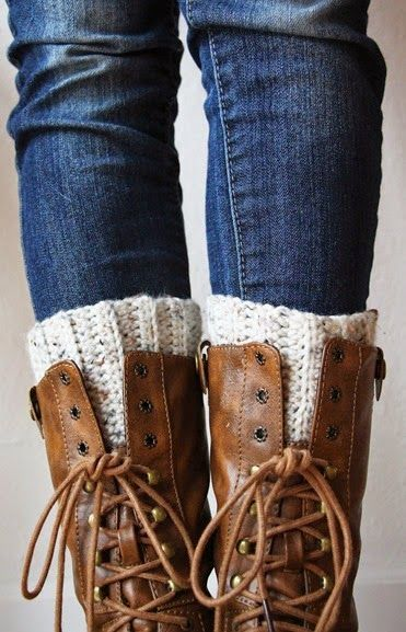 Crochet Boot Cuffs By Sarah - Free Crochet Pattern - (atowngirlslife ...
