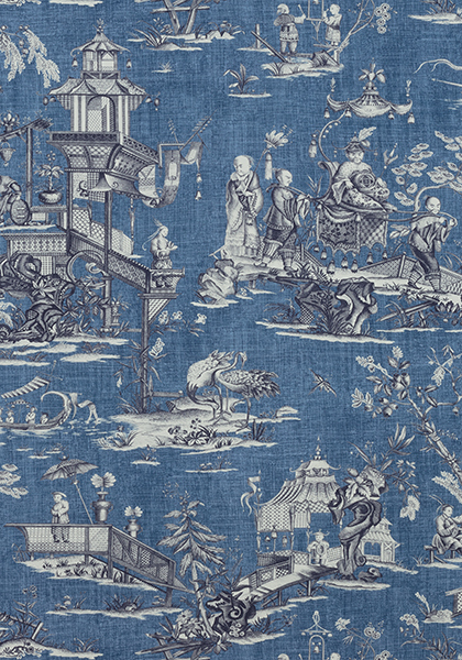 CHENG TOILE, Navy, F975465, Collection Dynasty from