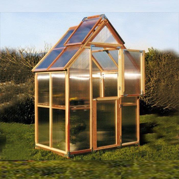 Sunshine Gardenhouse Mt. Hood Greenhouse 6X4 Ft. Sunshine Gardenhouse Mt.  Hood Greenhouse [