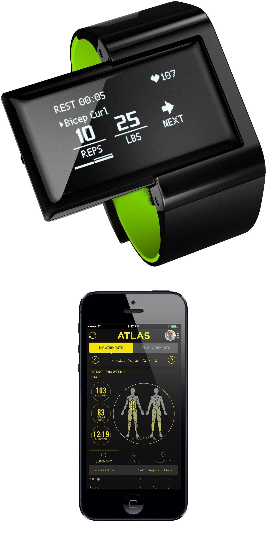 Atlas wearables wristband wearable device fitness