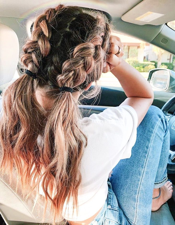 Two Braided Hairstyles To Try This Summer - DIY Da
