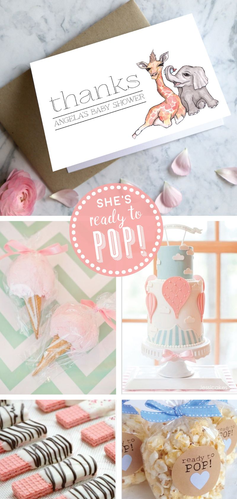 Beautiful designer baby shower invitations and stationery