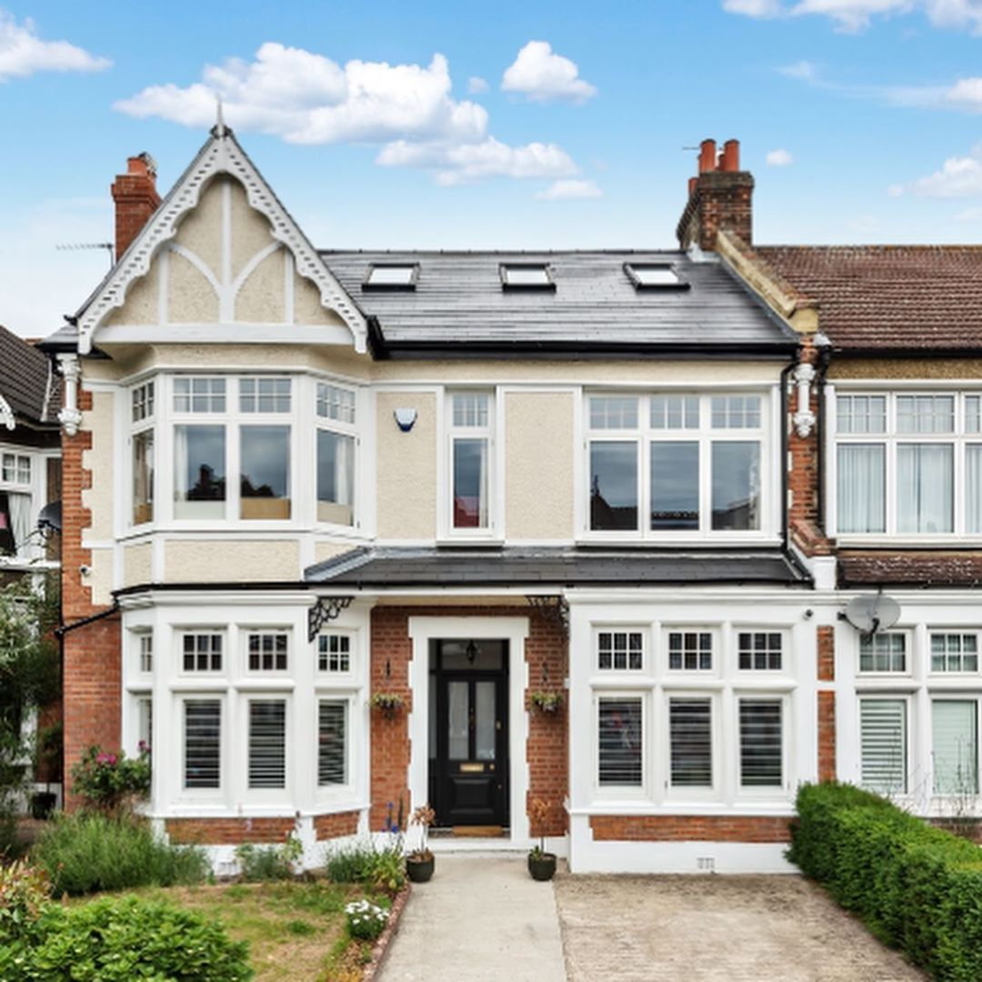 Double Fronted Victorian House Westcombe Park Victorian House London Elegant Home Decor Facade House