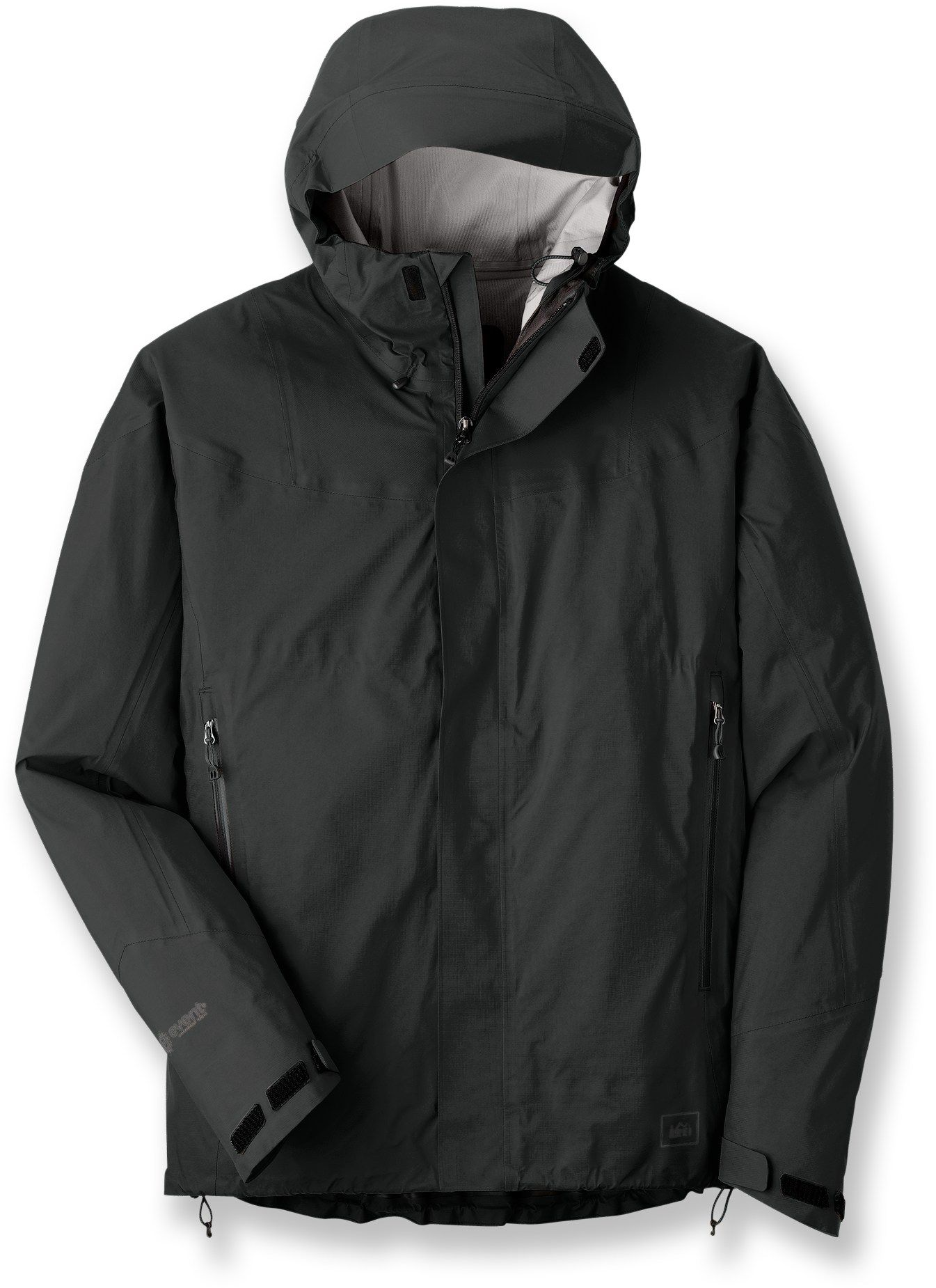 7f20c40b29 REI Kimtah Rain Jacket with eVent fabric technology...forget about  Goretex...how about not suffocating in your rain gear? eVent is air  permeable and ...