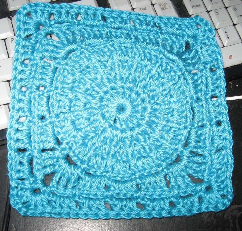 On The Road Again 8 Inch Square Crochet Grannies Pinterest