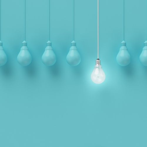 Decluttering And Minimizing My Life Unwind And Let Go Hanging Light Bulbs Light Blue Aesthetic Light