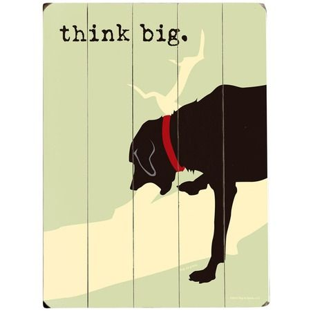 Think Big Wall Art from the Preppy Pet event at Joss and Main...I ...