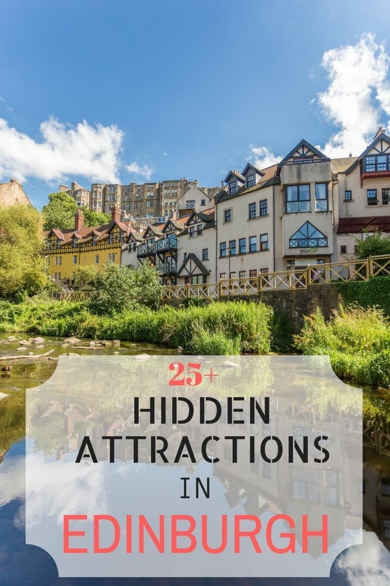A guide to hidden Edinburgh attractions. This guide takes you beyond the highlights to find hidden things to do in Edinburgh, Scotland that you might not have thought of! #Edinburgh #Scotland #City #Travel #Inspiration #UnitedKingdom