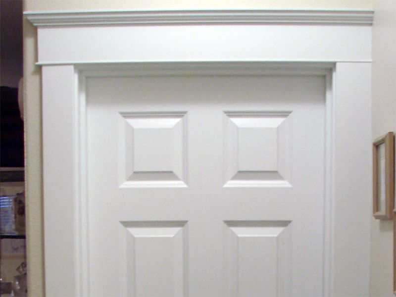 Shaker style trim work hemenway cabinets trim for Modern door casing styles