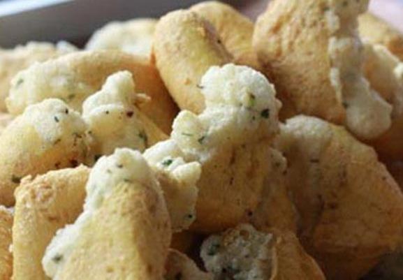 Indonesian Fried Tofu With Starch Tahu Aci From Tegal Province Resep Tahu Makanan Masakan Indonesia