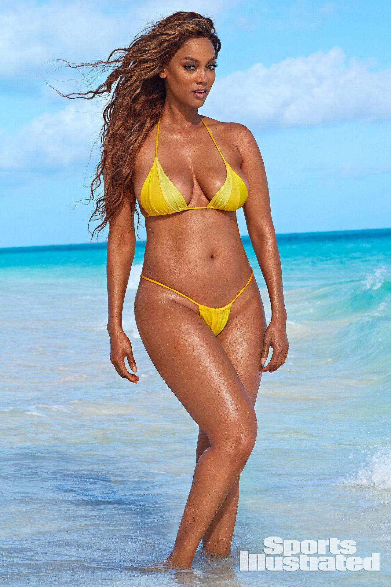 Tyra Banks Sports Illustrated Banks Sport