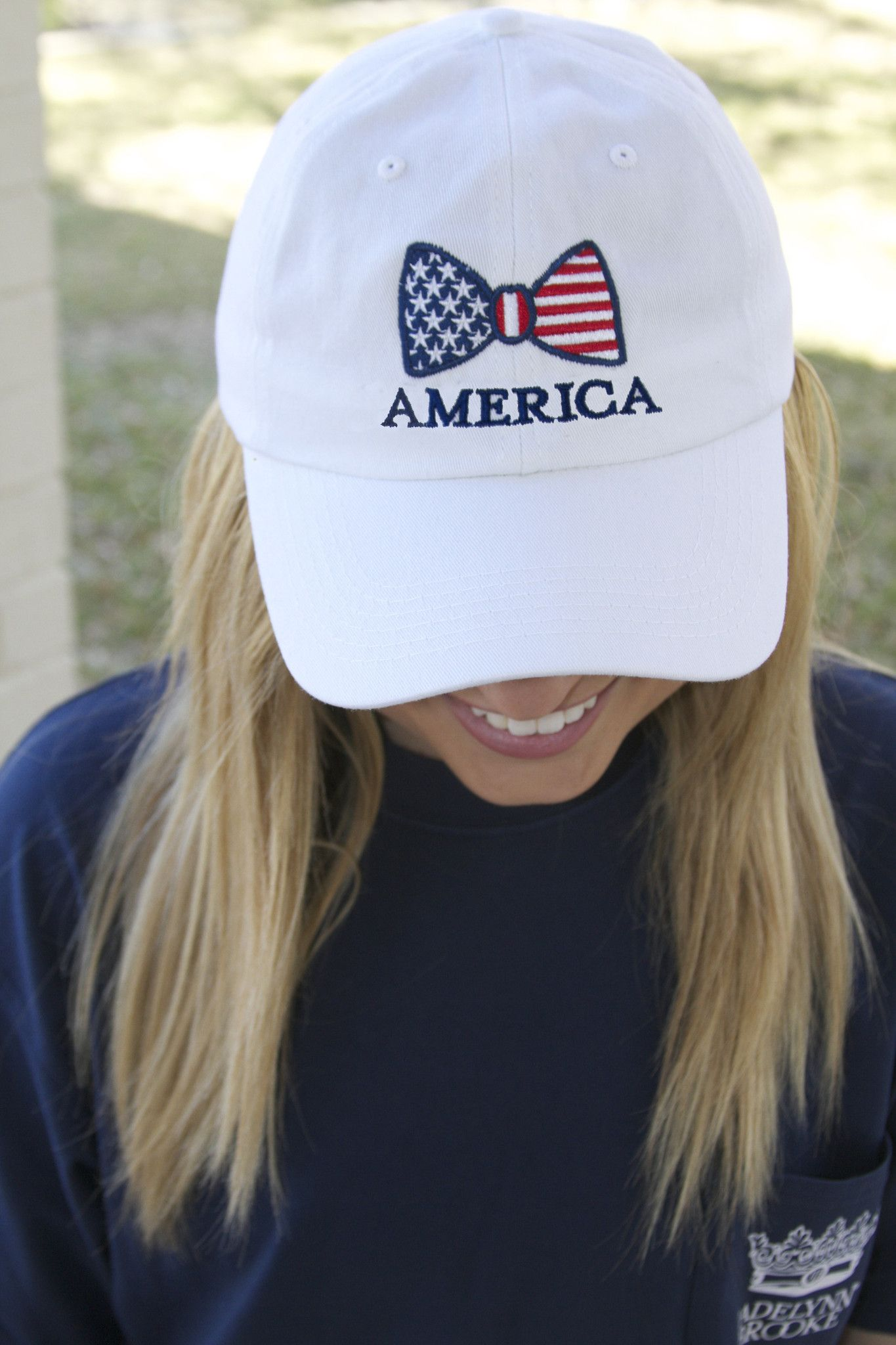 ef096af1608 One of our absolute favorite baseball caps! SO adorable! Get yours now at  WWW.JADELYNNBROOKE.COM