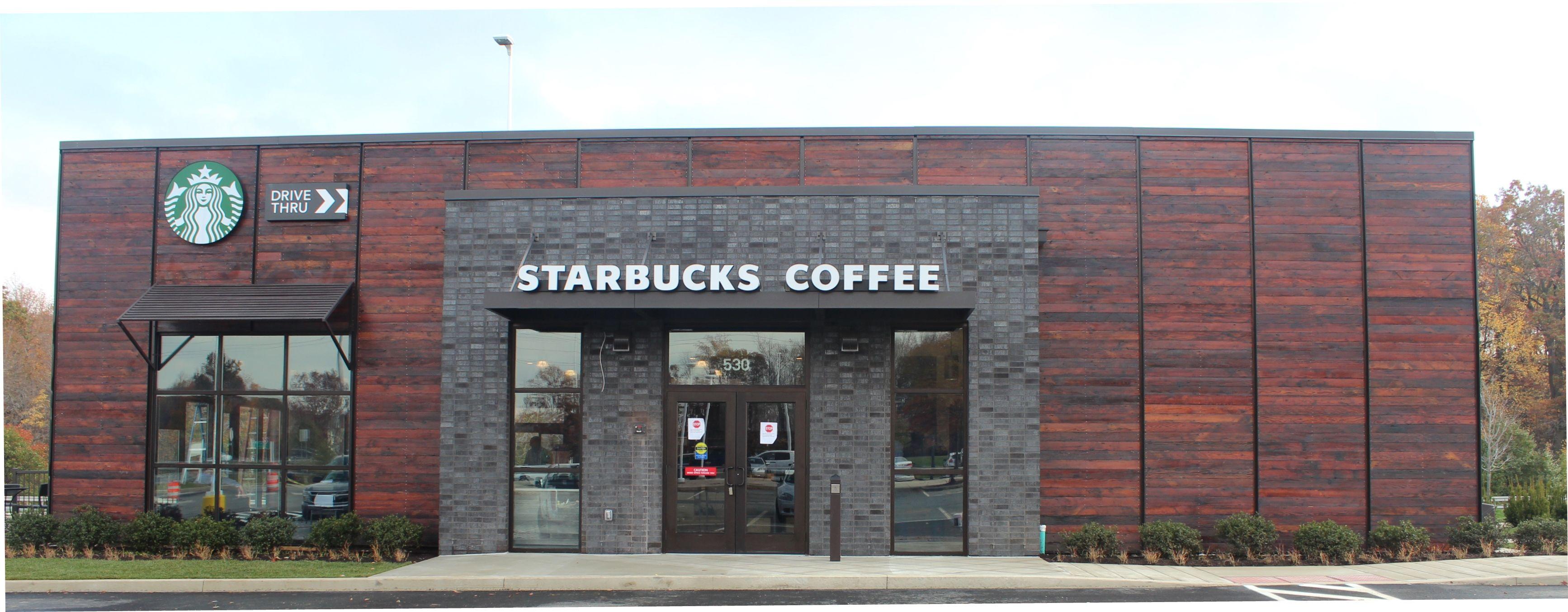 Hmshost Opens New Drive Thru Starbucks At Delaware Welcome Center On I 95
