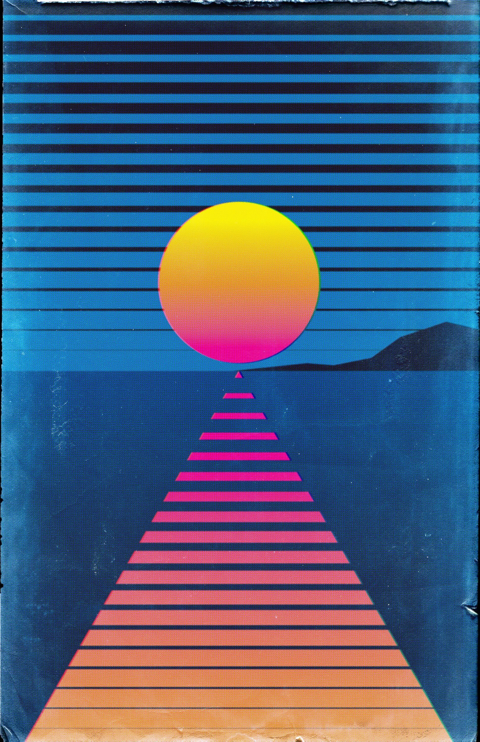 Quick Retrowave Poster Outrun Wallpaper Iphone Neon Iphone Wallpaper Vintage Wallpaper Iphone Christmas