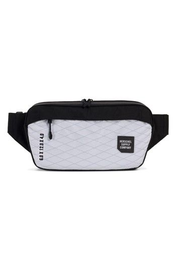 HERSCHEL SUPPLY CO. TRAIL SAILCLOTH MAMMOTH BELT BAG - WHITE.   herschelsupplyco.  bags  belt bags   6043ec363bd4f