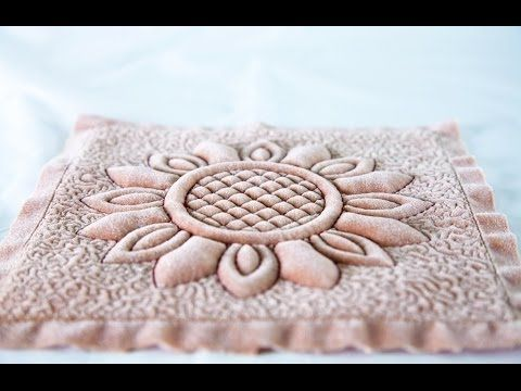 ▷ classic trapunto with an embroidery machine by anita goodesign