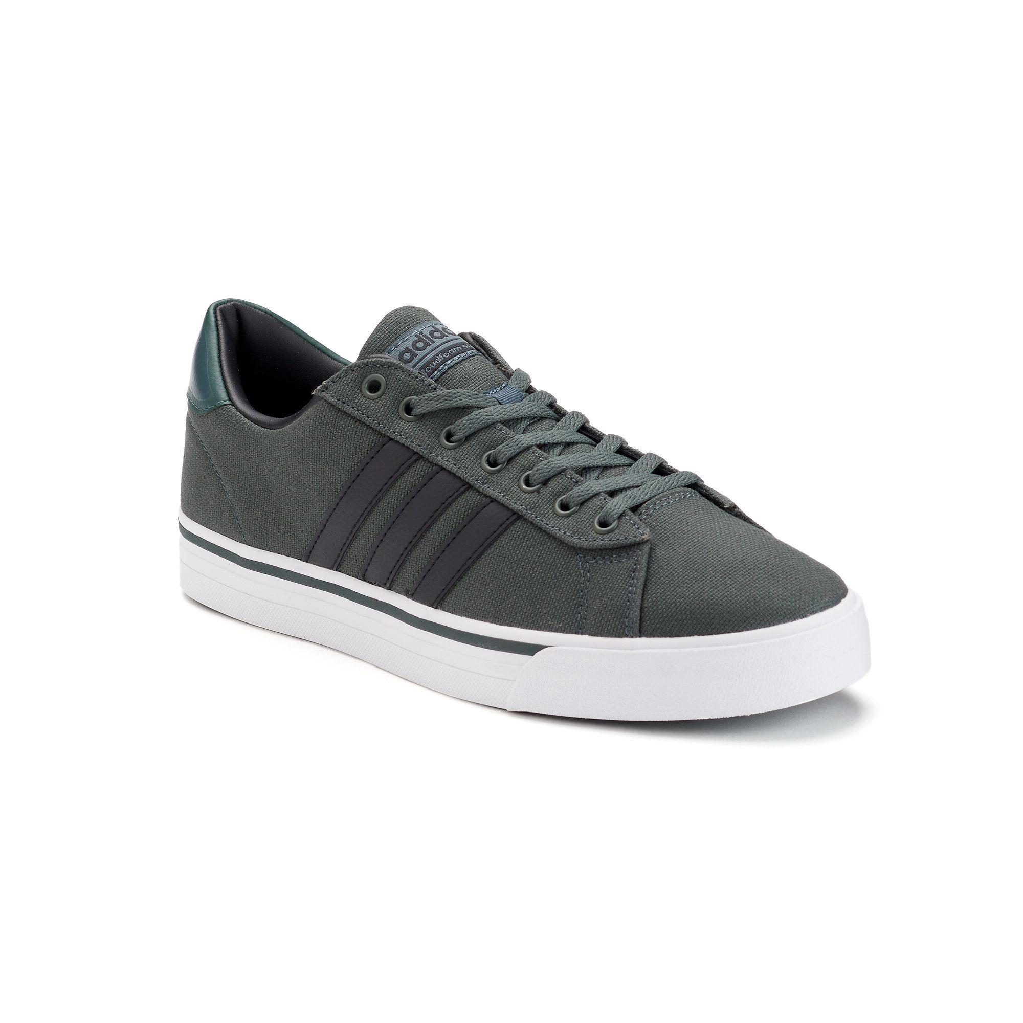 Adidas NEO Cloudfoam Super Daily Men\u0027s Shoes, Size: 10.5, Dark Green