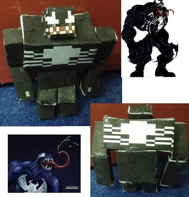 Papercraft Venom Ultimate Version Paper Crafts Venom