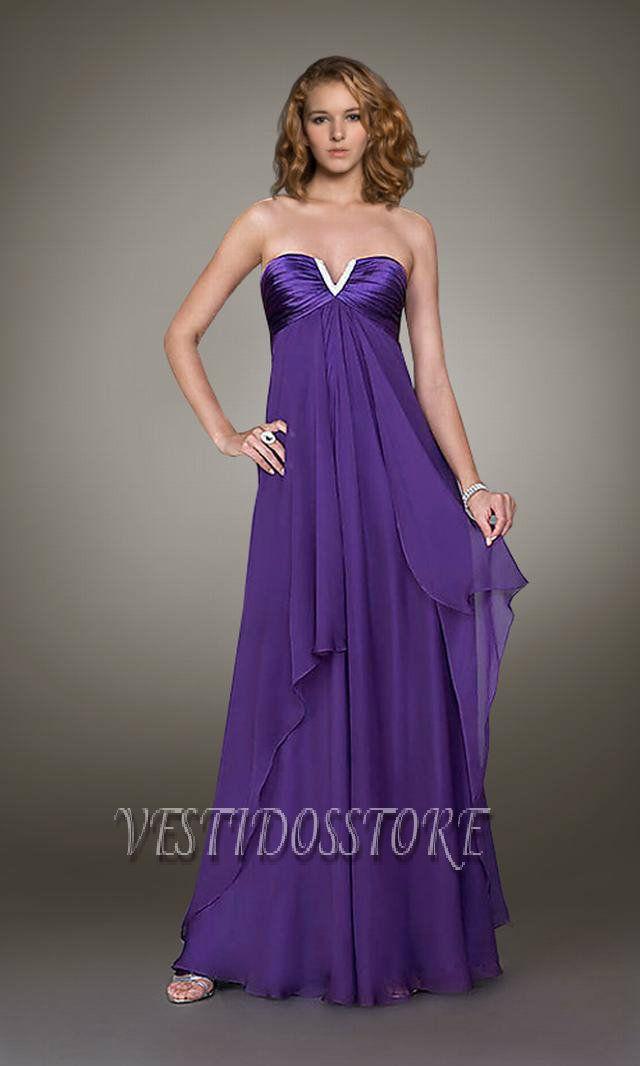 Vestidos largos de fiesta, más formales y elegantes. | Moda ...