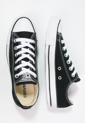 Converse CHUCK TAYLOR ALL STAR - Matalavartiset tennarit - black - Zalando.fi