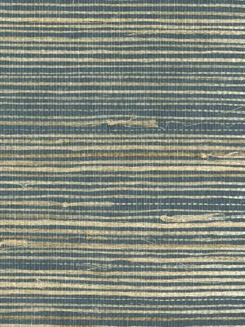 Nb175 Blue And Grey Grasscloth Totalwallcovering Com Grasscloth Wallpaper Grasscloth Wallpaper