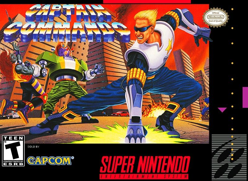 Play Captain Commando Online Free Snes Super Nintendo