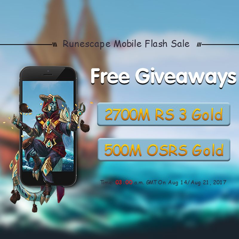 Free rs gold giveaways