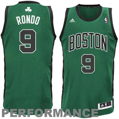 79d743ecc03 Rajon Rondo Boston Celtics adidas Swingman Alternate Jersey - Kelly Green