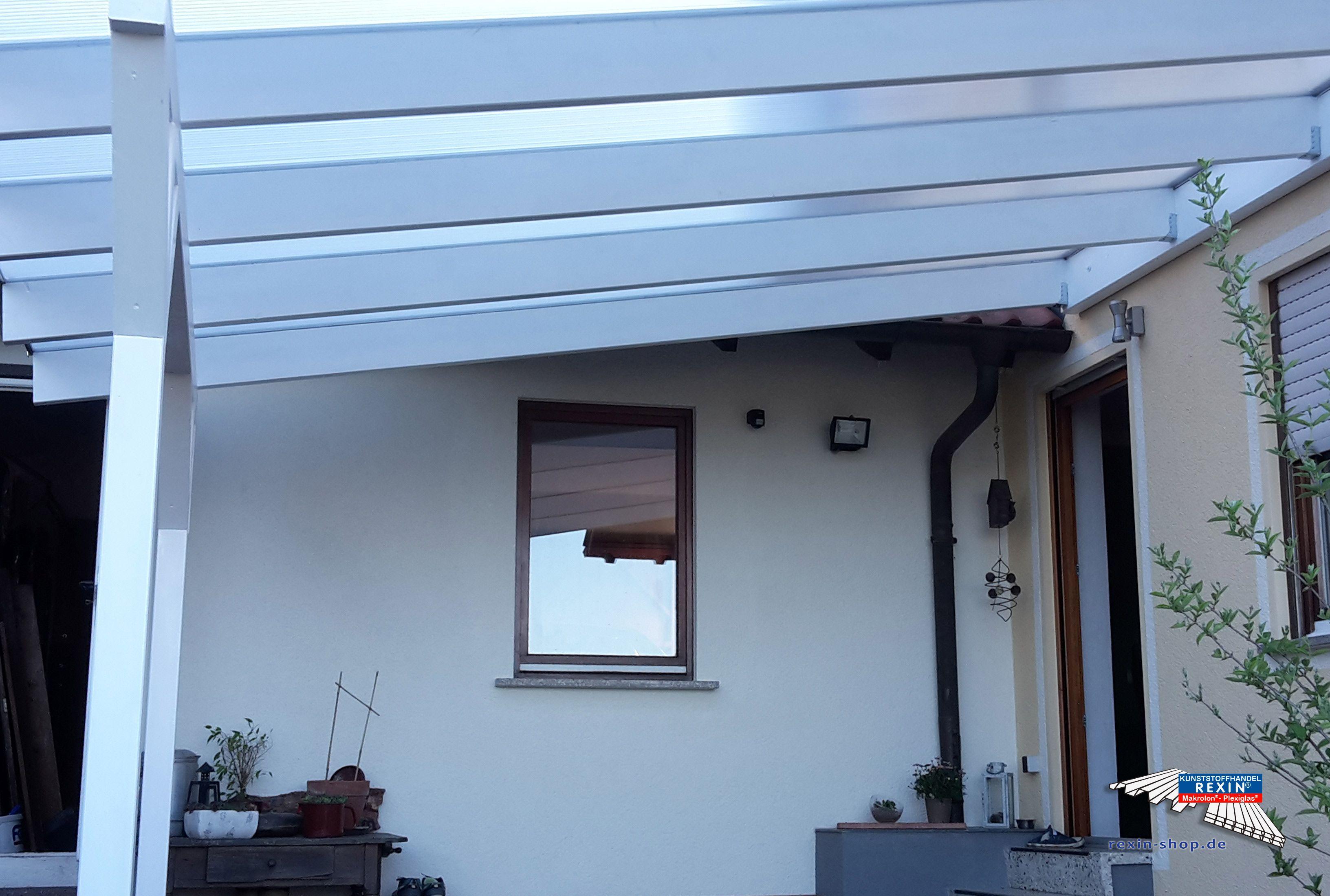 Ein HolzTerrassendach der Marke XXL 4m x 4
