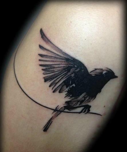 blackbird tattoo - Google Search | Tattoo | Black bird tattoo ...