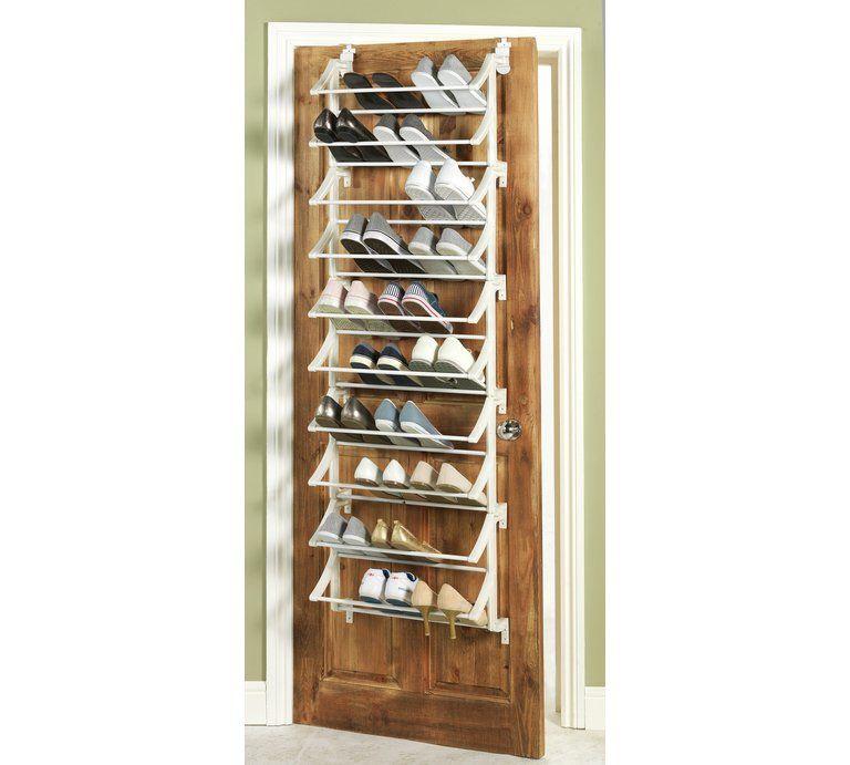 Buy Argos Home Hanging 10 Shelf Shoe Storage Rack White Shoe
