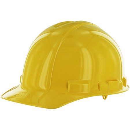 3m Polyethylene Hard Hat Yellow 1 Pk Walmart Com Hard Hat Hard Hats Comfortable Pillows