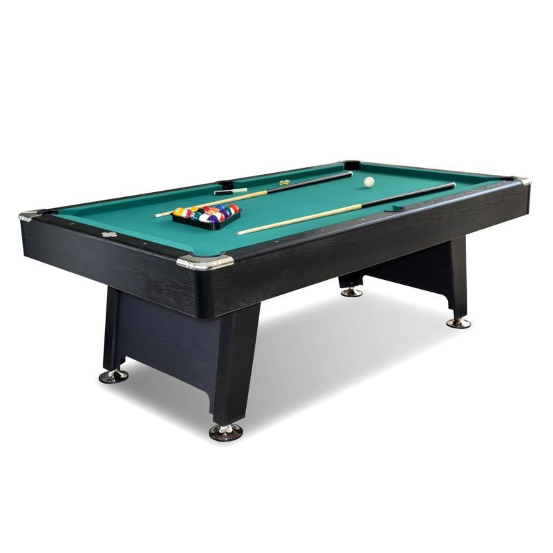 Lancaster Inch Arcade Game Room Billiard Pool Table With Balls - 7 inch pool table